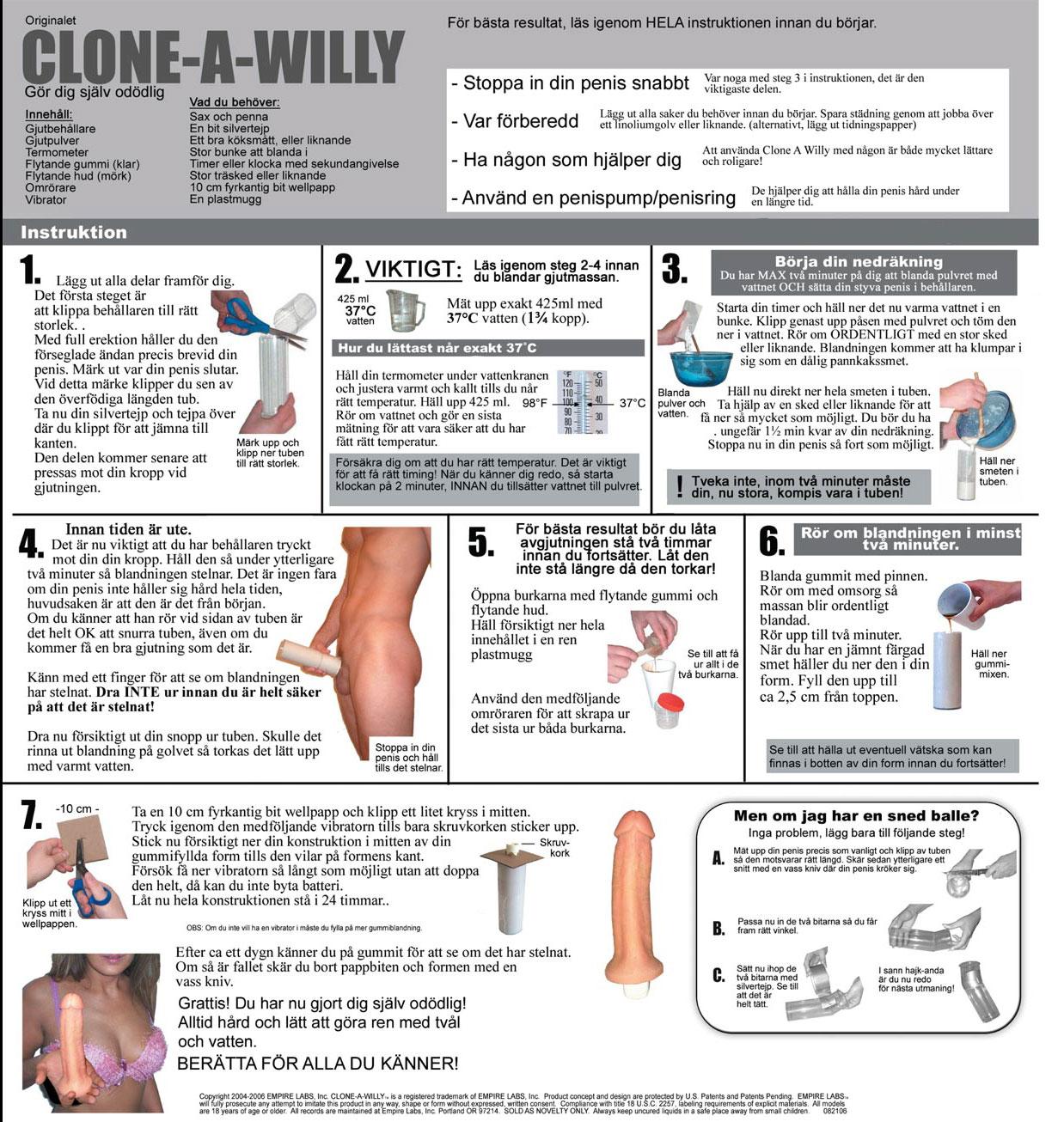 clone-a-willy-instruktioner-svenska