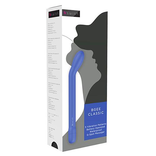 bgee blå förpackning