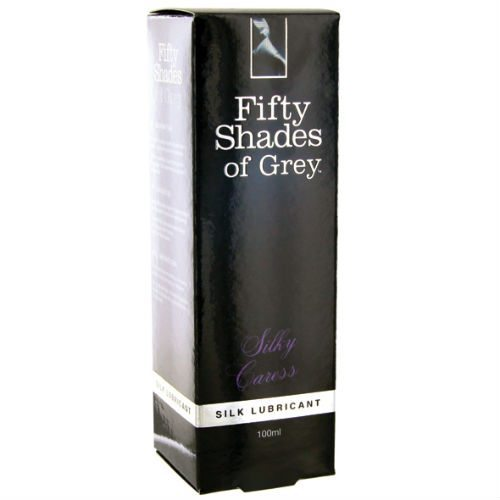 50 Shades of Grey - Silky caress glidmedel forpackning