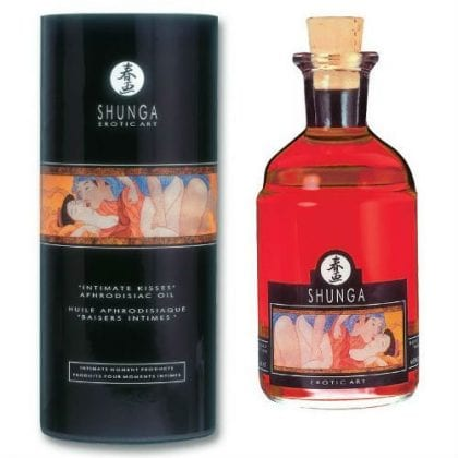 Shunga Aphrodisiac Oil Blazing Cherry 100 ml