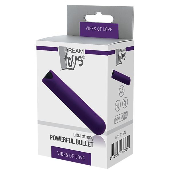 Powerful Bullet - Uppladdningsbar förpackning