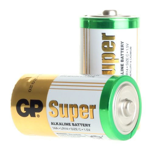 GP Batterier 2-pack LR-14 (C)