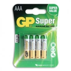 GP Batterier 4-pack LR-03 (AAA)