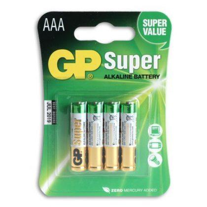 GP Batterier 4-pack LR-03 (AAA)