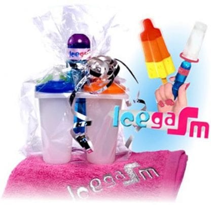 Icegasm - Isvibrator is glass dildo