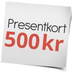 Presentkort på sexleksaker 500 kr