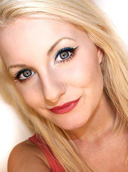 Sveriges sexigaste make up bloggare Helena Rönnblad