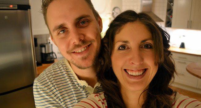Sveriges sexigaste matbloggare Jimmy och Millis Holm