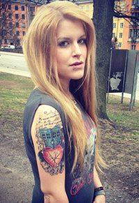 Sveriges sexigaste musikbloggare Zoofie Ljung