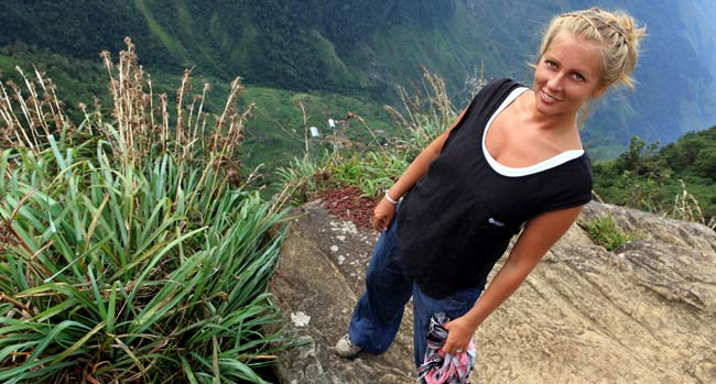 Sveriges sexigaste resebloggare Christine Ericson